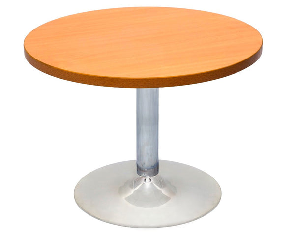 Rapidline Round Coffee Table Beech coffee table Dunn Furniture - Online Office Furniture for Brisbane Sydney Melbourne Canberra Adelaide
