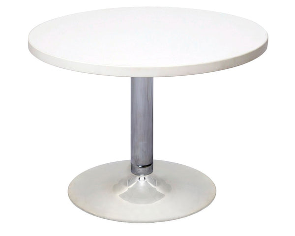 Rapidline Round Coffee Table White coffee table Dunn Furniture - Online Office Furniture for Brisbane Sydney Melbourne Canberra Adelaide