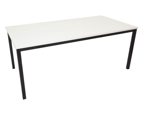 Rapidline Drafting Height Table In White Meeting Tables Dunn Furniture - Online Office Furniture for Brisbane Sydney Melbourne Canberra Adelaide