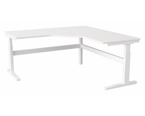 Activ Height Adjustable Corner 90 Workstation Standing Desks Dunn Furniture - Online Office Furniture for Brisbane Sydney Melbourne Canberra Adelaide