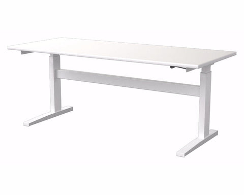Activ Straight Height Adjustable Desk Standing Desks Dunn Furniture - Online Office Furniture for Brisbane Sydney Melbourne Canberra Adelaide