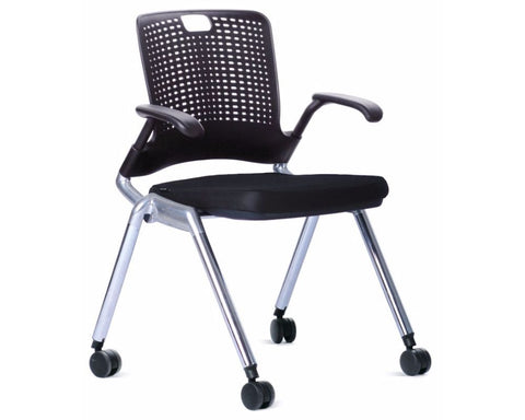 OLG Adapta Visitor Chair Pack of 3 Visitor Chairs Dunn Furniture - Online Office Furniture for Brisbane Sydney Melbourne Canberra Adelaide