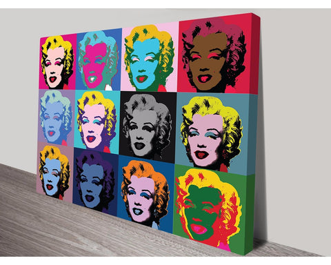 Marilyn Monroe 1 By Andy Warhol Wall Art Modern Art Dunn Furniture - Online Office Furniture for Brisbane Sydney Melbourne Canberra Adelaide