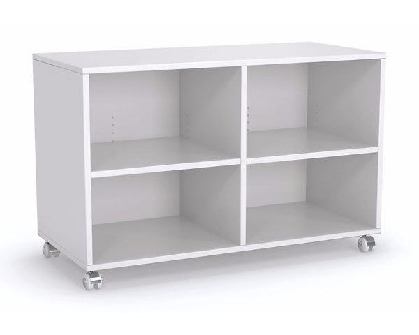 OLG Axis Caddy Mobile Bookcase Caddy Mobile Bookcase Dunn Furniture - Online Office Furniture for Brisbane Sydney Melbourne Canberra Adelaide