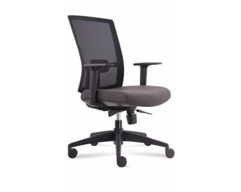Fineseat B1 Task Chair Black Task Chairs Dunn Furniture - Online Office Furniture for Brisbane Sydney Melbourne Canberra Adelaide
