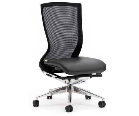 OLG Balance Executive Mesh Back Chair Black Executive Chairs Dunn Furniture - Online Office Furniture for Brisbane Sydney Melbourne Canberra Adelaide
