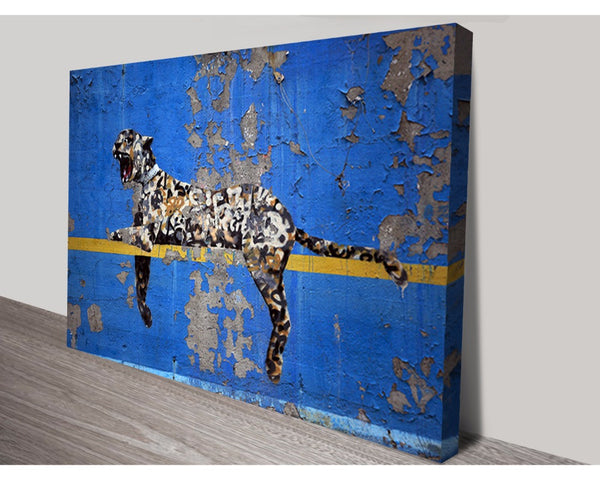 Bronx Zoo By Banksy Wall Art Banksy Dunn Furniture - Online Office Furniture for Brisbane Sydney Melbourne Canberra Adelaide