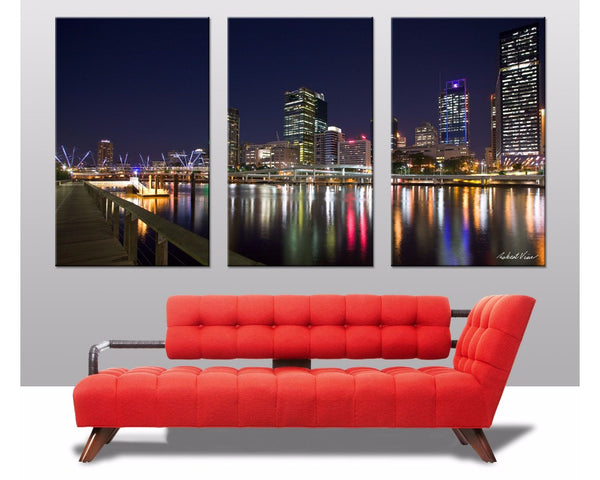 Brisbane Triptych 3 Piece Wall Art 3 Piece Wall Art Dunn Furniture - Online Office Furniture for Brisbane Sydney Melbourne Canberra Adelaide