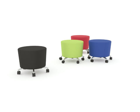 OLG Cookie Stool in Black Green Red Blue or Orange Lounge Chairs Dunn Furniture - Online Office Furniture for Brisbane Sydney Melbourne Canberra Adelaide