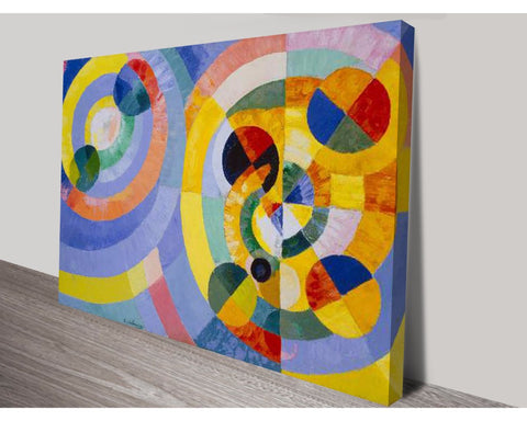Circular Forms By Robert Delaunay Wall Art Modern Art Dunn Furniture - Online Office Furniture for Brisbane Sydney Melbourne Canberra Adelaide