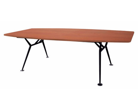 Rapidline Rapid Span Boardroom Table 2400mm Cherry Boardroom Tables Dunn  Furniture   Online Office Furniture For