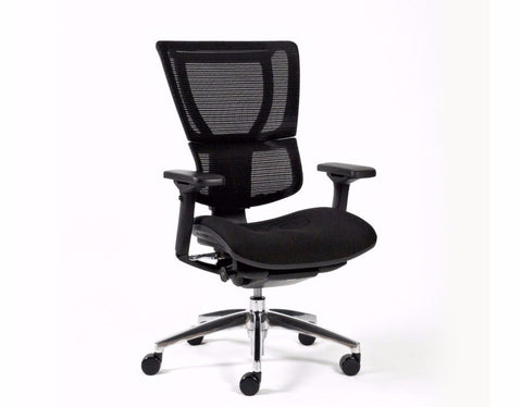 Fineseat I-Form Executive Chair Black Executive Chairs Dunn Furniture - Online Office Furniture for Brisbane Sydney Melbourne Canberra Adelaide