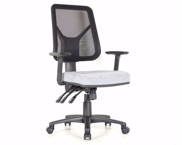Fineseat M80S Task Chair Black Mesh Task Chairs Dunn Furniture - Online Office Furniture for Brisbane Sydney Melbourne Canberra Adelaide