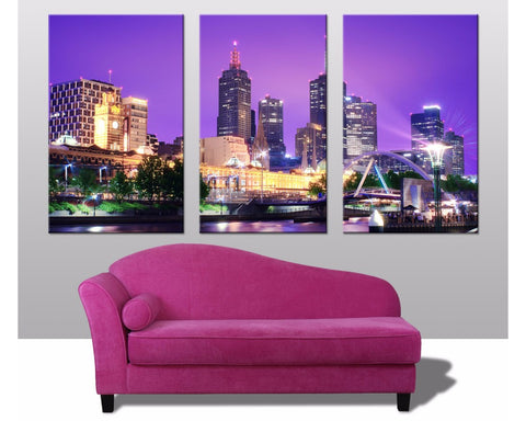 Melbourne Triptych 3 Piece Wall Art 3 Piece Wall Art Dunn Furniture - Online Office Furniture for Brisbane Sydney Melbourne Canberra Adelaide