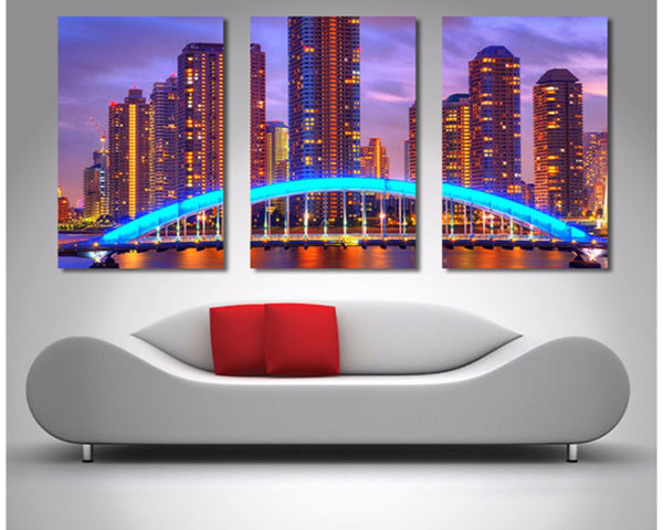 Melbourne Triptych II 3 Piece Wall Art 3 Piece Wall Art Dunn Furniture - Online Office Furniture for Brisbane Sydney Melbourne Canberra Adelaide