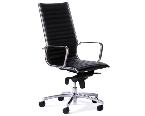 OLG Metro Executive Chair Black Executive Chairs Dunn Furniture - Online Office Furniture for Brisbane Sydney Melbourne Canberra Adelaide