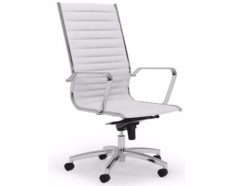 OLG Metro Executive Chair White Executive Chairs Dunn Furniture - Online Office Furniture for Brisbane Sydney Melbourne Canberra Adelaide