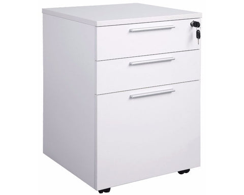 OLG Axis Mobile Drawers - 3 Drawers Mobile Storage Units Dunn Furniture - Online Office Furniture for Brisbane Sydney Melbourne Canberra Adelaide
