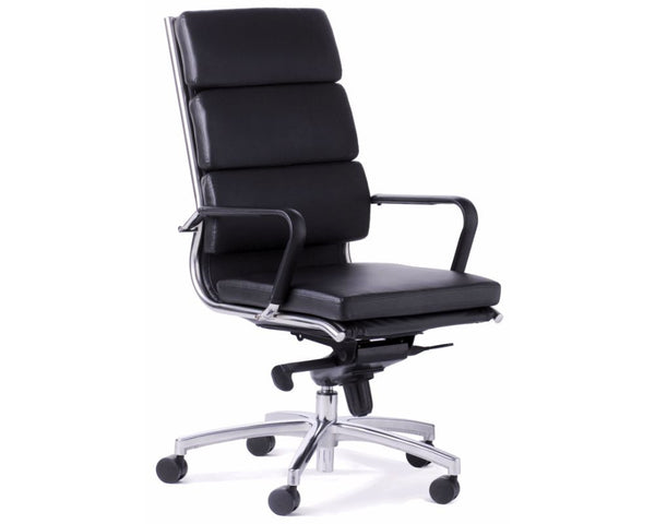 OLG Mode Highback Executive Chair Black Executive Chairs Dunn Furniture - Online Office Furniture for Brisbane Sydney Melbourne Canberra Adelaide