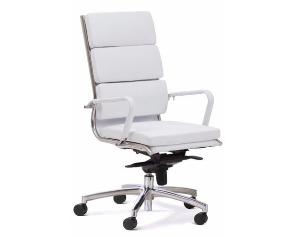 OLG Mode Highback Executive Chair White Executive Chairs Dunn Furniture - Online Office Furniture for Brisbane Sydney Melbourne Canberra Adelaide