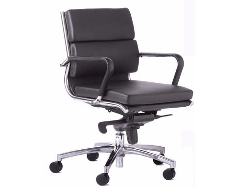 OLG Mode Midback Executive Chair Black Executive Chairs Dunn Furniture - Online Office Furniture for Brisbane Sydney Melbourne Canberra Adelaide