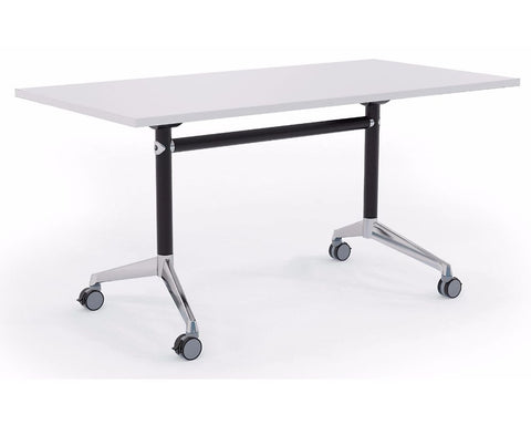 OLG Modulus Flip Meeting Table With Black Frame Meeting Tables Dunn Furniture - Online Office Furniture for Brisbane Sydney Melbourne Canberra Adelaide