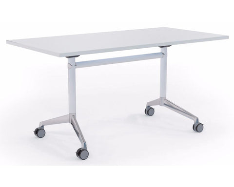 OLG Modulus Flip Meeting Table With White Frame Meeting Tables Dunn Furniture - Online Office Furniture for Brisbane Sydney Melbourne Canberra Adelaide