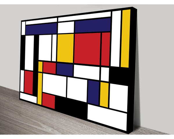 Mondrian Tableau I By Piet Mondrian Wall Art Modern Art Dunn Furniture - Online Office Furniture for Brisbane Sydney Melbourne Canberra Adelaide