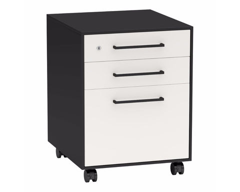Nexus Mobile Pedestal 3 Drawers Mobile Storage Units Dunn Furniture - Online Office Furniture for Brisbane Sydney Melbourne Canberra Adelaide