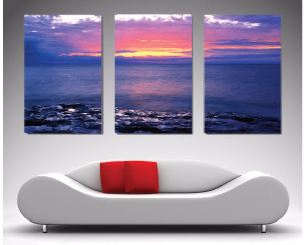 New Day Split Panel Triptych 3 Piece Wall Art 3 Piece Wall Art Dunn Furniture - Online Office Furniture for Brisbane Sydney Melbourne Canberra Adelaide