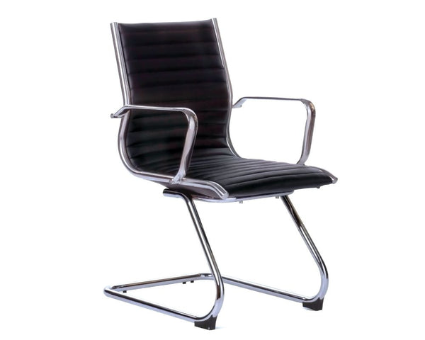 OLG Metro Visitor Chair Black Visitor Chairs Dunn Furniture - Online Office Furniture for Brisbane Sydney Melbourne Canberra Adelaide