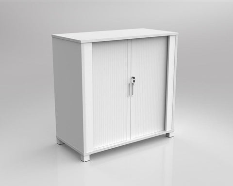 OLG Axis Tambour Storage Cabinet Storage Units Dunn Furniture - Online Office Furniture for Brisbane Sydney Melbourne Canberra Adelaide