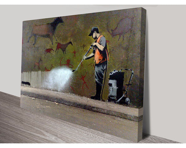 Off The Wall By Banksy Wall Art Banksy Dunn Furniture - Online Office Furniture for Brisbane Sydney Melbourne Canberra Adelaide