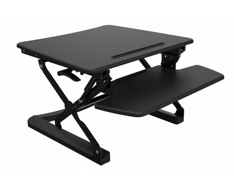 Rapid Riser Sit Stand Desk Platform Small Standing Desks Dunn Furniture - Online Office Furniture for Brisbane Sydney Melbourne Canberra Adelaide