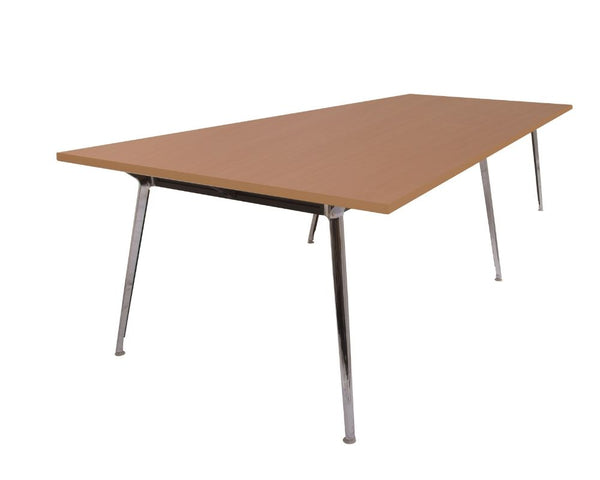 Rapid Air Boardroom Table Beech 3200 x 1200 Boardroom Tables Dunn Furniture - Online Office Furniture for Brisbane Sydney Melbourne Canberra Adelaide