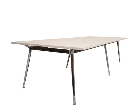 Rapid Air Boardroom Table White 3200 x 1200 Boardroom Tables Dunn Furniture - Online Office Furniture for Brisbane Sydney Melbourne Canberra Adelaide