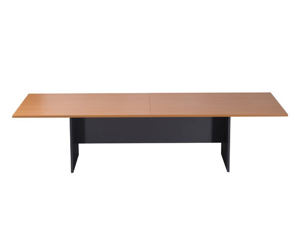 Rapidline Boardroom Table 3200mm Beech Ironstone Boardroom Tables Dunn Furniture - Online Office Furniture for Brisbane Sydney Melbourne Canberra Adelaide
