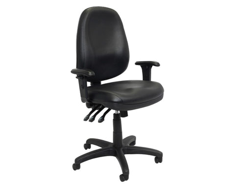 Rapidline Sage Ergonomic High Back Chair Task Chairs Dunn Furniture - Online Office Furniture for Brisbane Sydney Melbourne Canberra Adelaide