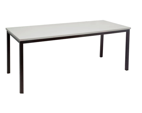 Rapidline Steel Frame Table In Grey Meeting Tables Dunn Furniture - Online Office Furniture for Brisbane Sydney Melbourne Canberra Adelaide