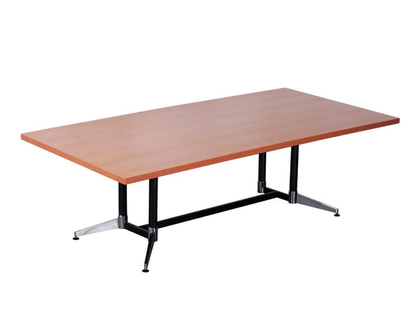 Rapidline Typhoon Boardroom Table Beech 1800 Boardroom Tables Dunn Furniture - Online Office Furniture for Brisbane Sydney Melbourne Canberra Adelaide