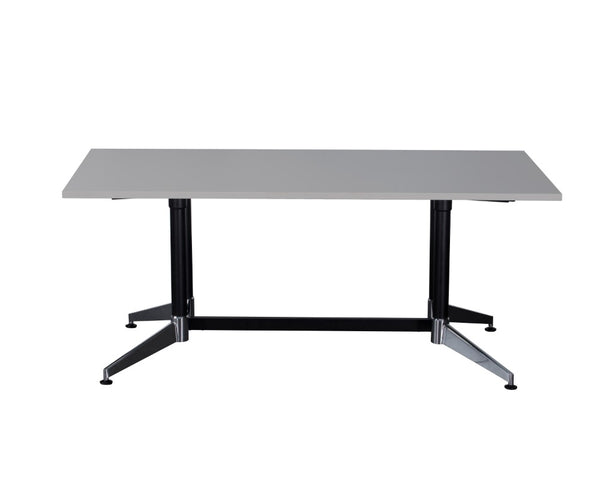 Rapidline Typhoon Boardroom Table Grey 1800 Boardroom Tables Dunn Furniture - Online Office Furniture for Brisbane Sydney Melbourne Canberra Adelaide