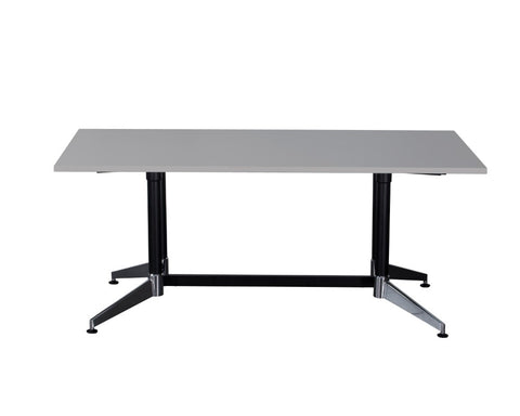 Rapidline Typhoon Boardroom Table Grey 1800