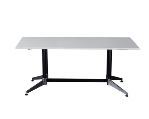 Rapidline Typhoon Boardroom Table White 1800