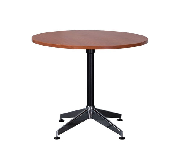 Rapidline Typhoon Round Meeting Table Cherry Meeting Tables Dunn Furniture - Online Office Furniture for Brisbane Sydney Melbourne Canberra Adelaide