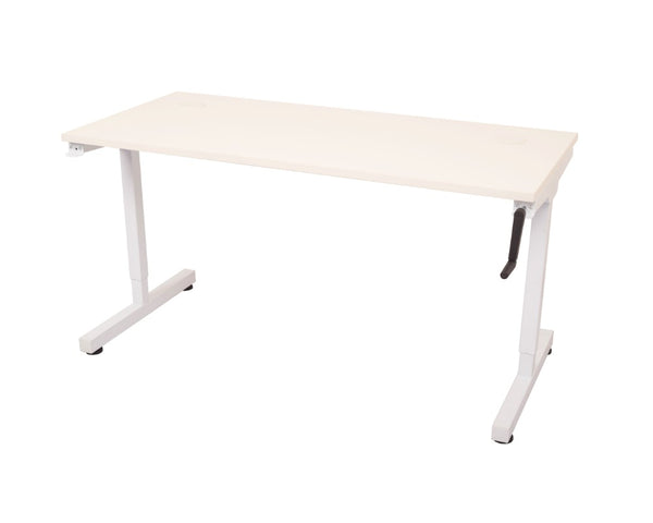 Rapidline Triump Manual Height Adjustable Desk Standing Desks Dunn Furniture - Online Office Furniture for Brisbane Sydney Melbourne Canberra Adelaide