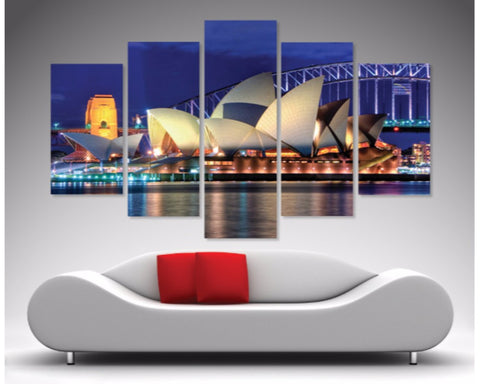 Sydney Opera House 5 Piece Diamond Shaped Wall Art 5 Piece Diamond Shaped Wall Art Dunn Furniture - Online Office Furniture for Brisbane Sydney Melbourne Canberra Adelaide