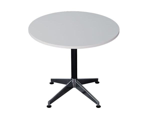 Rapidline Typhoon Round Meeting Table White Meeting Tables Dunn Furniture - Online Office Furniture for Brisbane Sydney Melbourne Canberra Adelaide