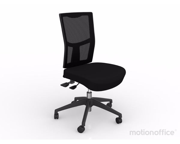 OLG Urban Mesh Chair Nylon Base Black Task Chairs Dunn Furniture - Online Office Furniture for Brisbane Sydney Melbourne Canberra Adelaide