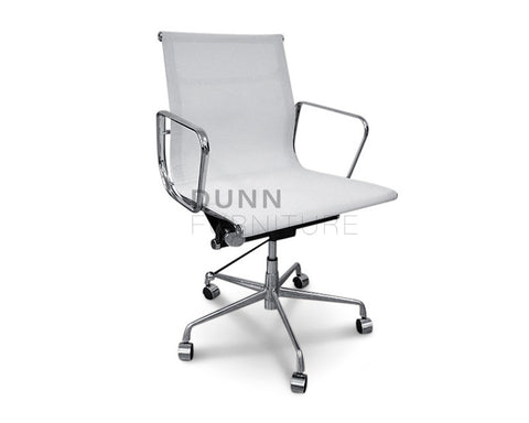 Management Mesh Office Chair Eames Replica White Task Chairs Dunn Furniture - Online Office Furniture for Brisbane Sydney Melbourne Canberra Adelaide