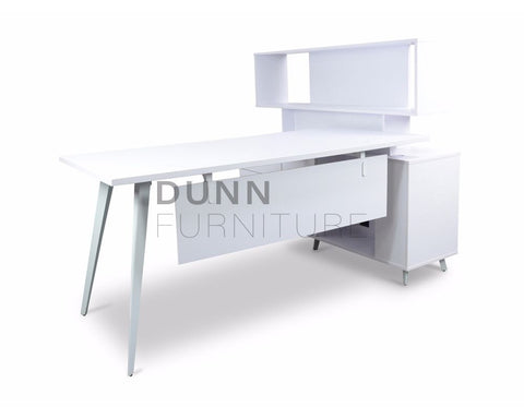 Targus Executive Desk with Top Cabinet Executive Desks Dunn Furniture - Online Office Furniture for Brisbane Sydney Melbourne Canberra Adelaide